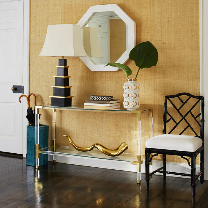 Brass Giant Horn Object by Jonathan Adler