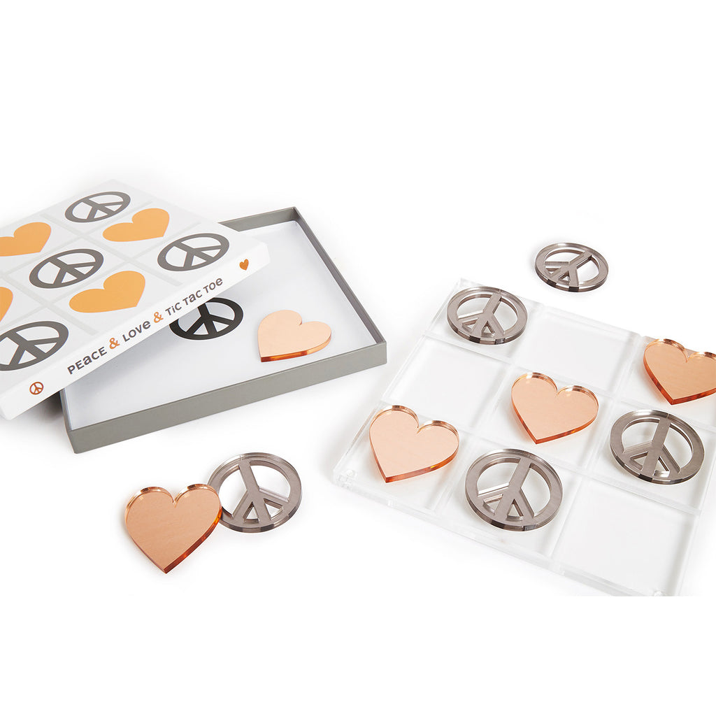Metallic Tic-Tac-Toe Set by Jonathan Adler