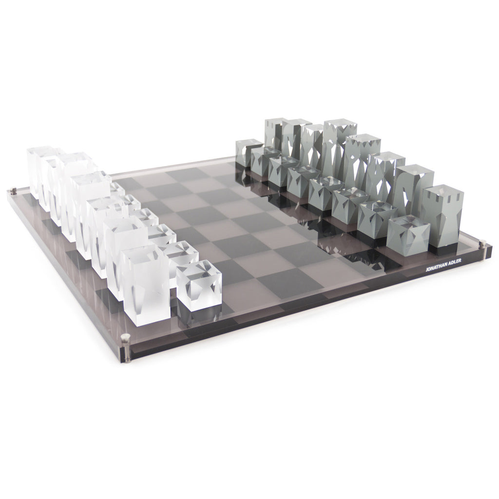 Modern Chess Table Jonathan Adler Chess Set  The Modern Shop