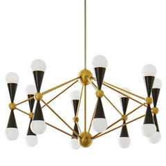 Caracas 16 Light Chandelier by Jonathan Adler