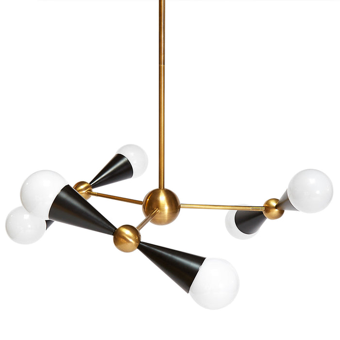 Caracas 6 Light Chandelier by Jonathan Adler