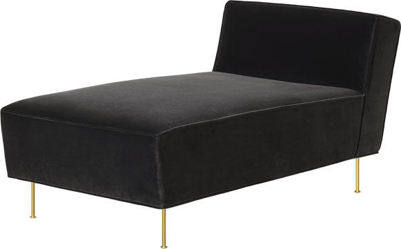 Modern Line Chaise Lounge By Gubi The Shop