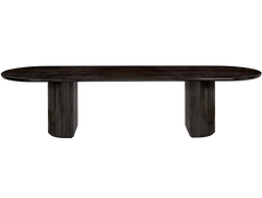 Moon Rectangular Dining Table by Gubi