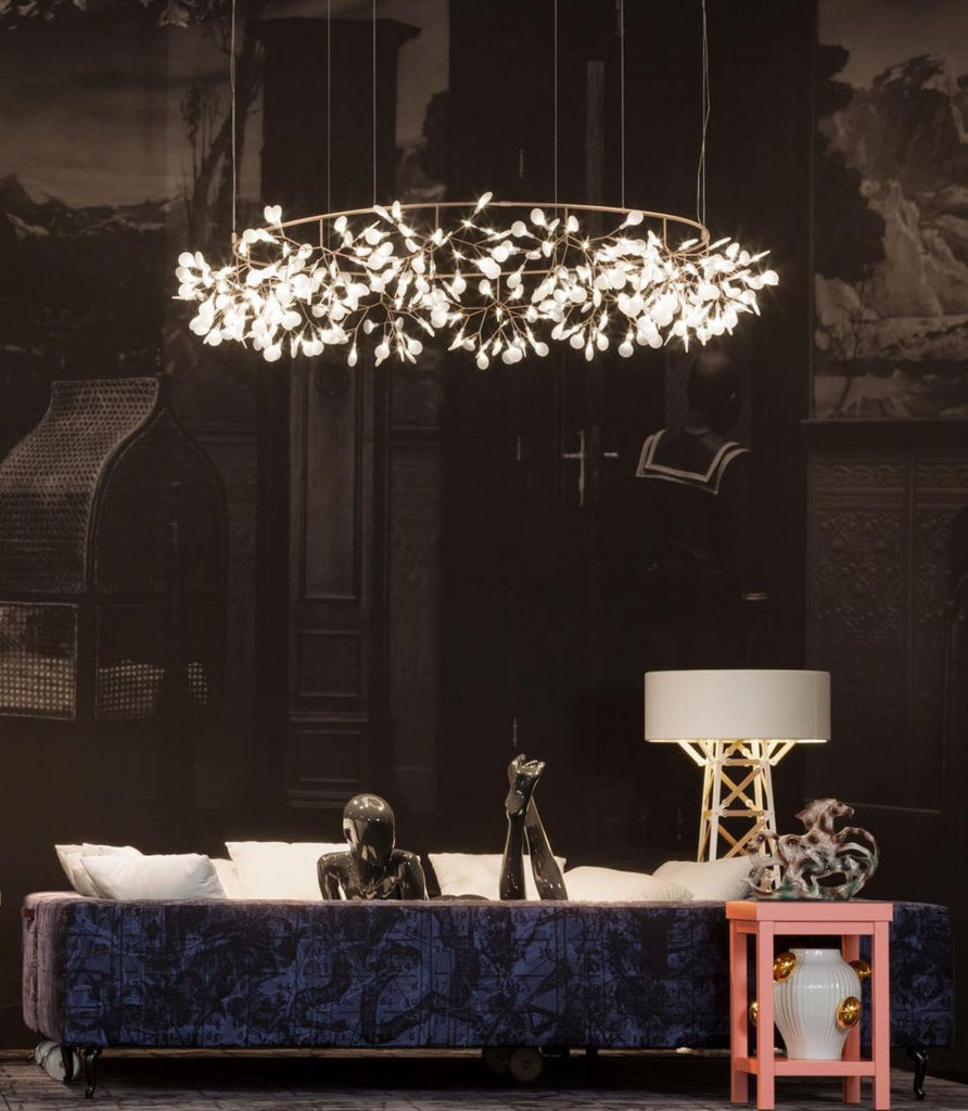 "Heracleum ""The Big O"" LED Suspension by Moooi"
