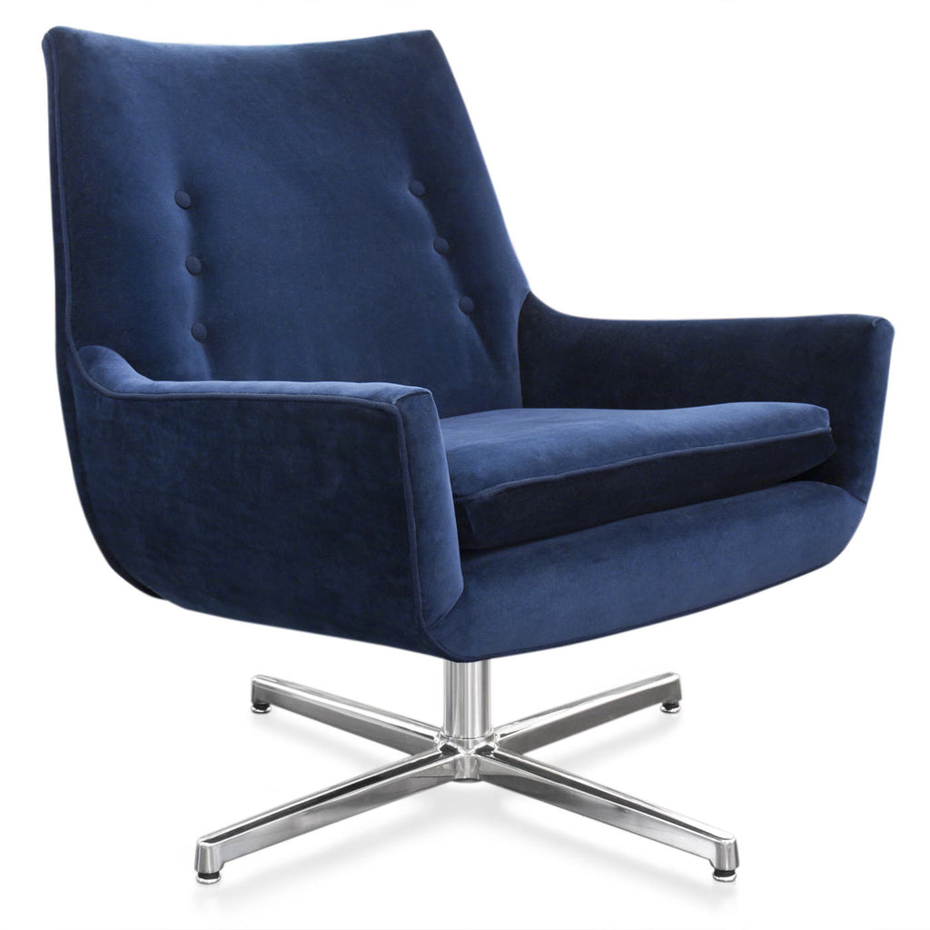 Mrs Godfrey Chair Swivel Base by Jonathan Adler