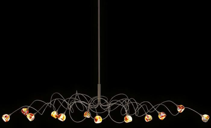 Harco Loor Murrini Oval Pendant Lamp