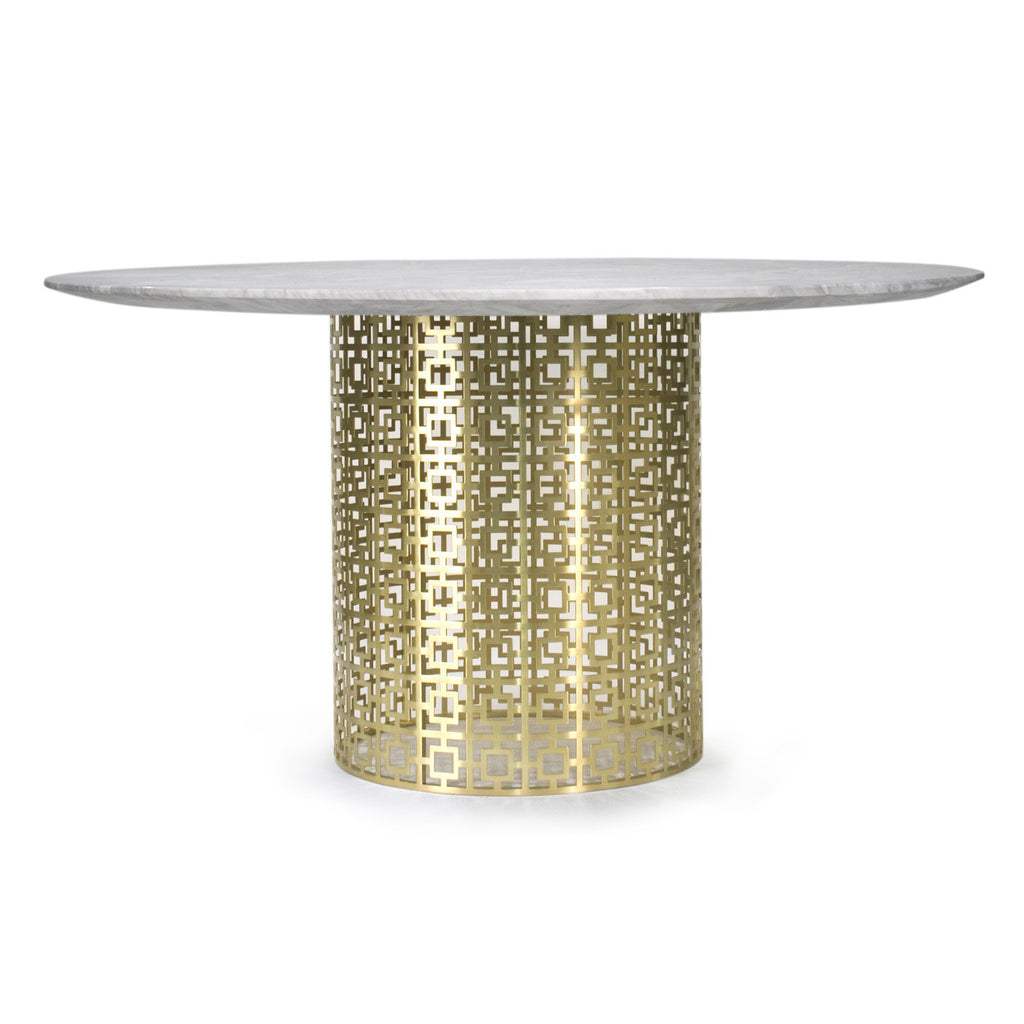 The Adler Extendable Table From Iq Furniture: Jonathan Adler Nixon Dining Table