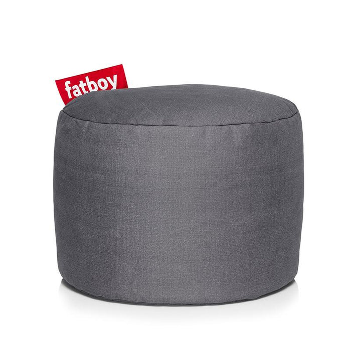 Point Stonewashed Pouf by Fatboy