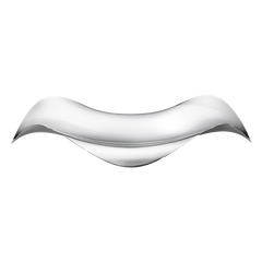 Cobra Oval Tray by Georg Jensen
