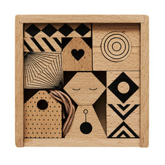 Puzzle Me Wooden Mobile by OYOY Mini