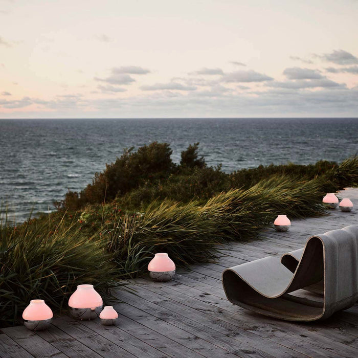 Koppel Hurricane Lanterns by Georg Jensen