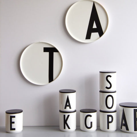 ABC Porcelain Plates by Arne Jacobsen for Design Letters