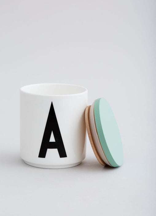 Wooden Lid by Design Letters