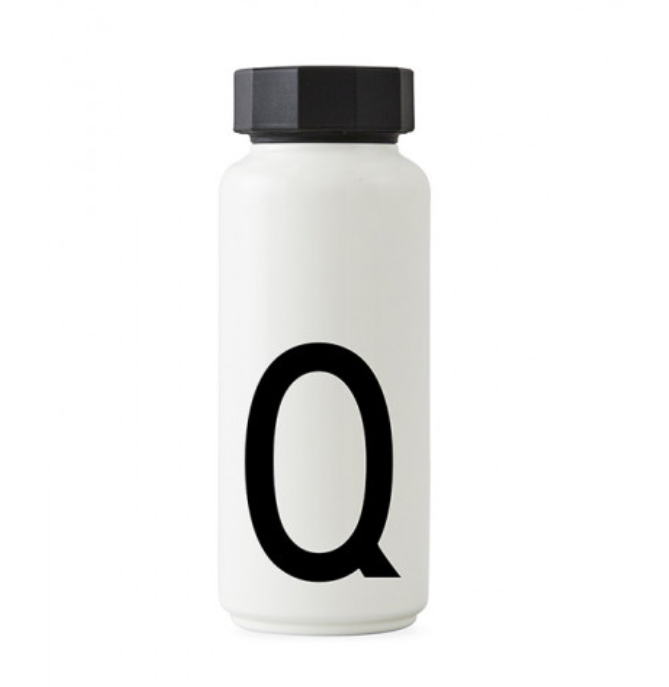 AJ Arne Jacobsen Thermo Bottle A-Z for Design Letters
