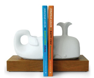 Jonathan Adler Whale Bookends