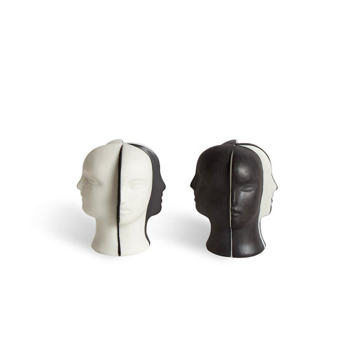 Atlas Salt and Pepper Set by Jonathan Adler