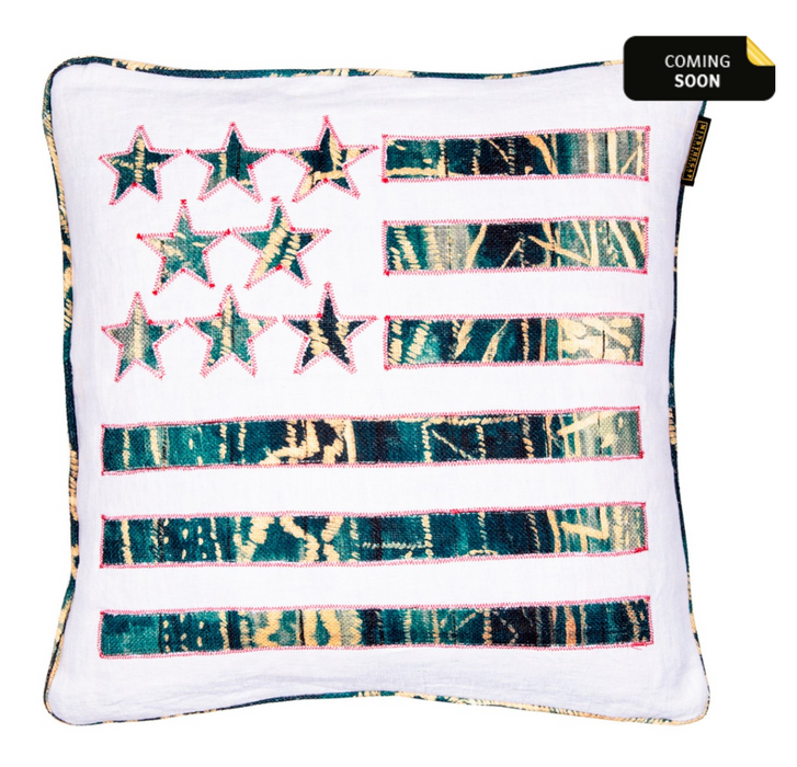 Stars and Stripes Cushion by Mindthegap