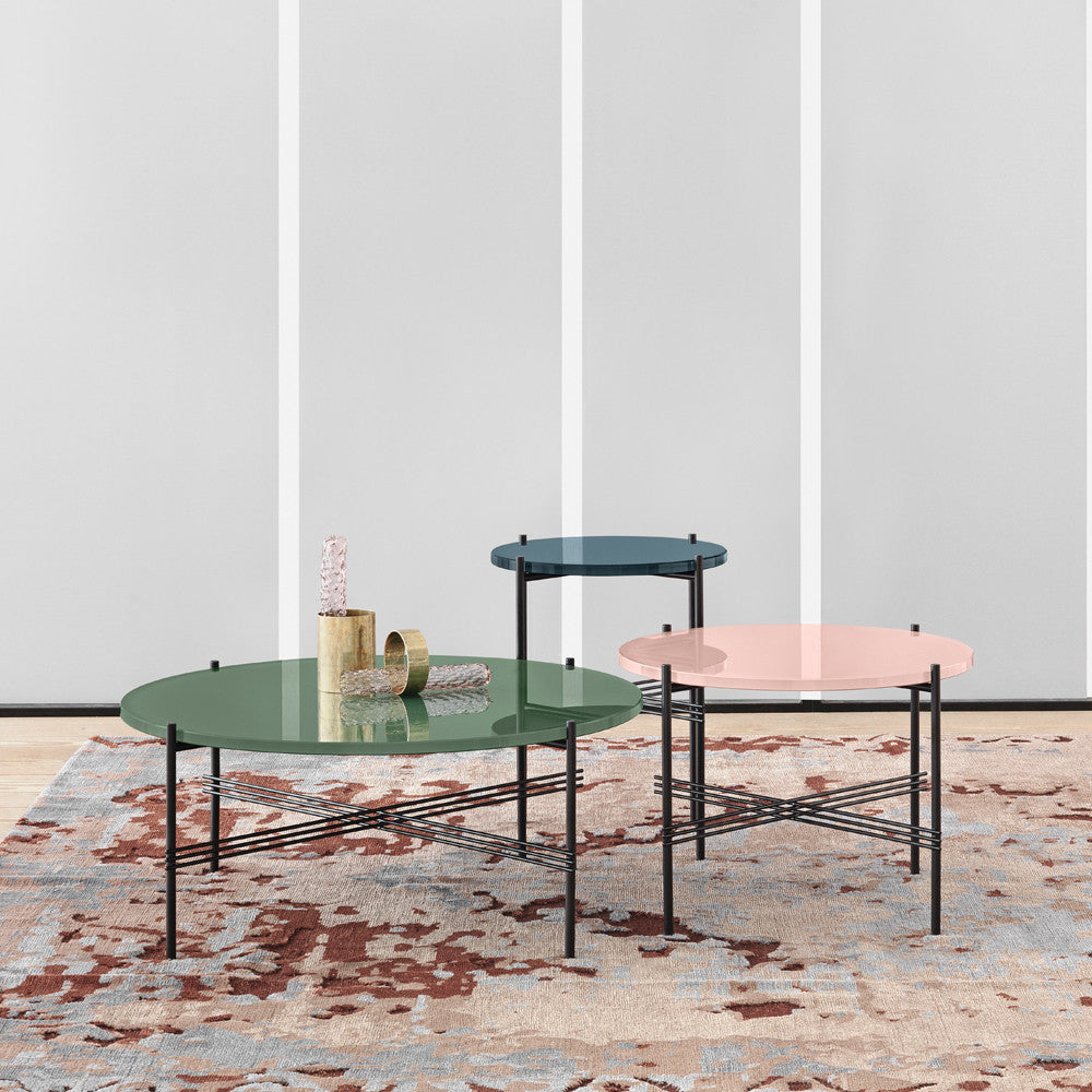 GamFratesi TS Lounge Table Glass by Gubi