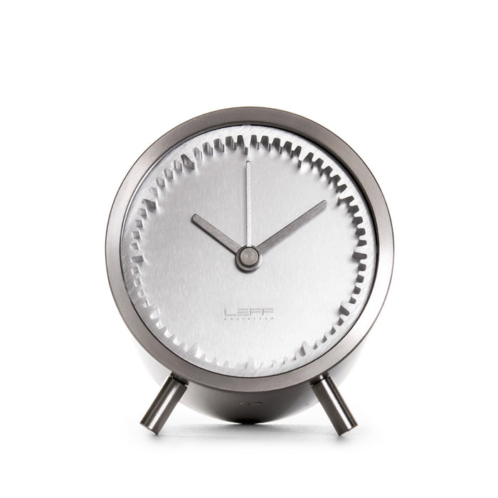 Tube Desk Clock by LEFF Amsterdam