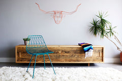 The Long Horn Geometric Animal Head by Bend Goods (Made in the USA)