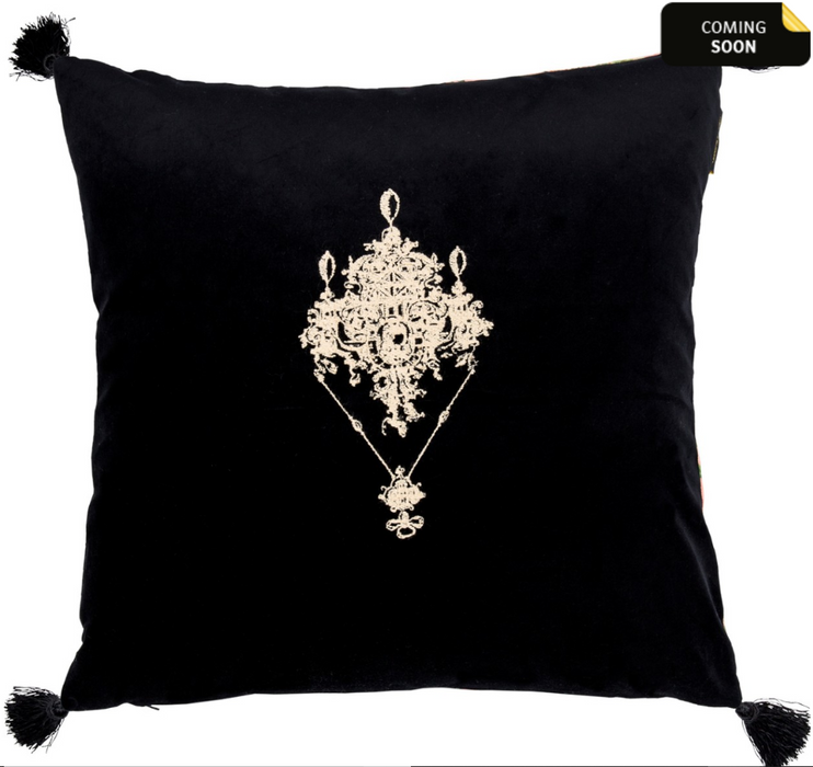 Gemme Embroidery Cushion by Mindthegap