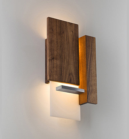 Vesper LED Wall Sconce by Cerno Made in USA