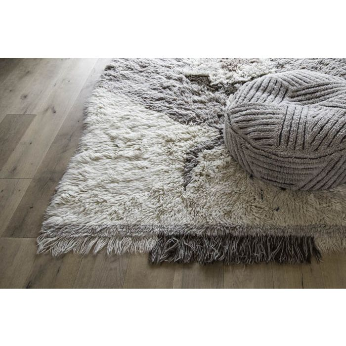 Fields Woolable Pouffe by Lorena Canals