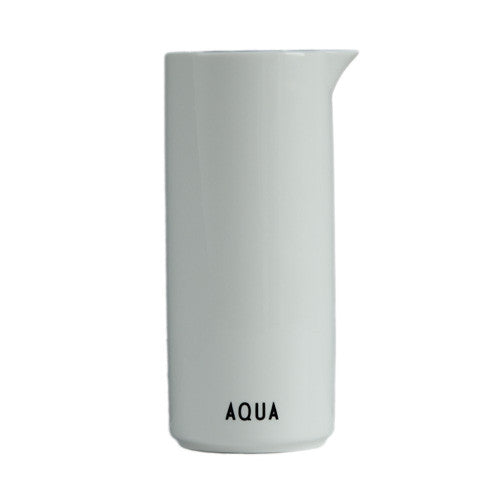Water / Aqua Jug by Design Letters