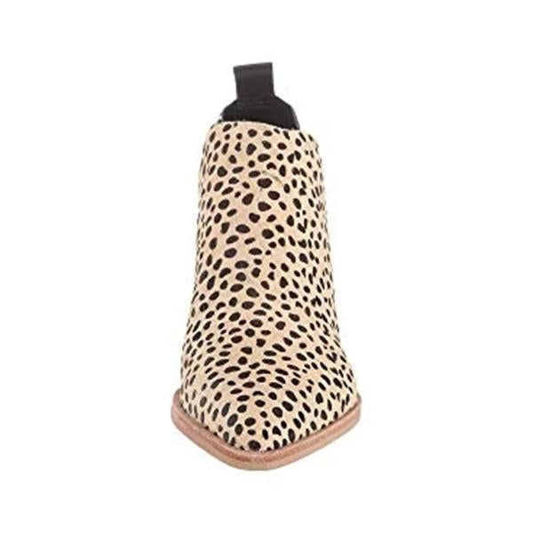 Variedshoes Sonni Leopard Boots