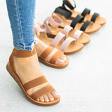 Variedshoes Women Casual Slip On Flats Sandals