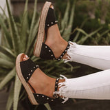 Variedshoes Trendy The Hartley Espadrille Sandals