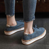 Variedshoes Women Casual Slip-On Flat Sneakers