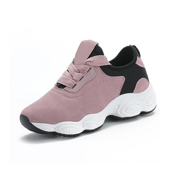 Variedshoes Women Spring Fashion Sport Shoes Low-Top Running Shoestennis Sneakers