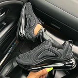 Variedshoes Triple Black Air Cushion Sneakers