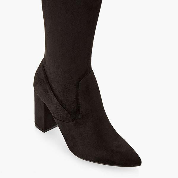 Variedshoes Over-The-Knee Heeled Boot