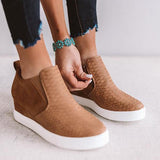 Variedshoes Daily Comfy Wedge Heel Sneakers
