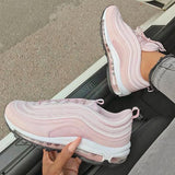 Variedshoes Women's Wavy Breathable Sneakers