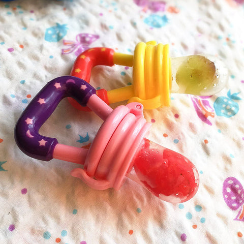 baby fruit feeder food pacifier teether