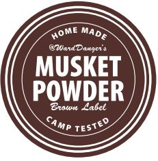Musket Powder Brown Label