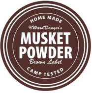 Musket Powder Brown Label - NEW!
