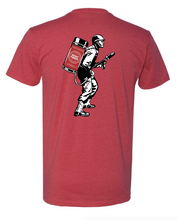 Load image into Gallery viewer, Short Sleeve Flame Thrower Red