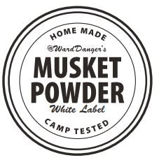 Musket Powder White Label