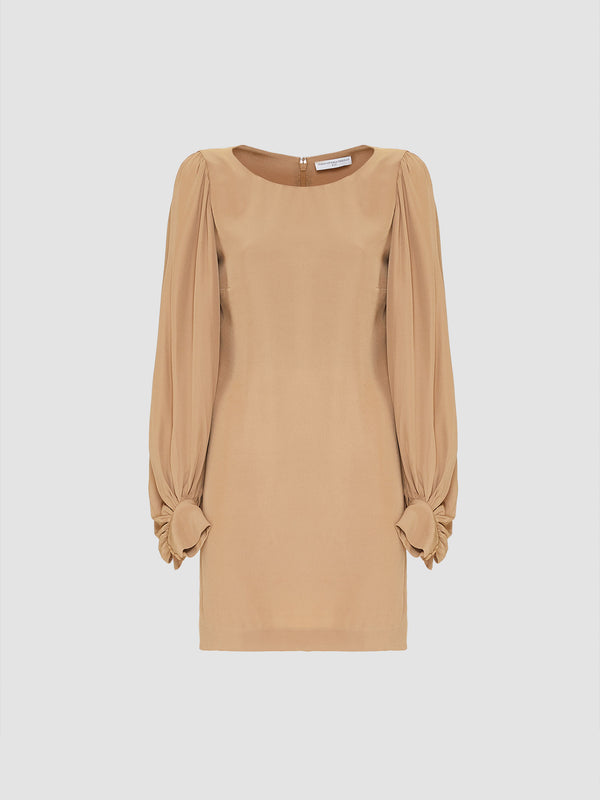 CAMEL MINI DRESS