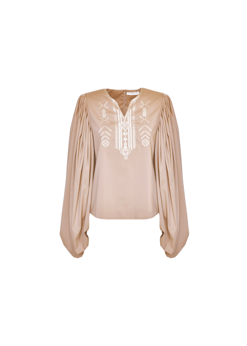 TOFFEE BLOUSE