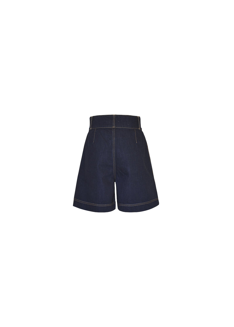 MVP DENIM SHORTS DARK BLUE