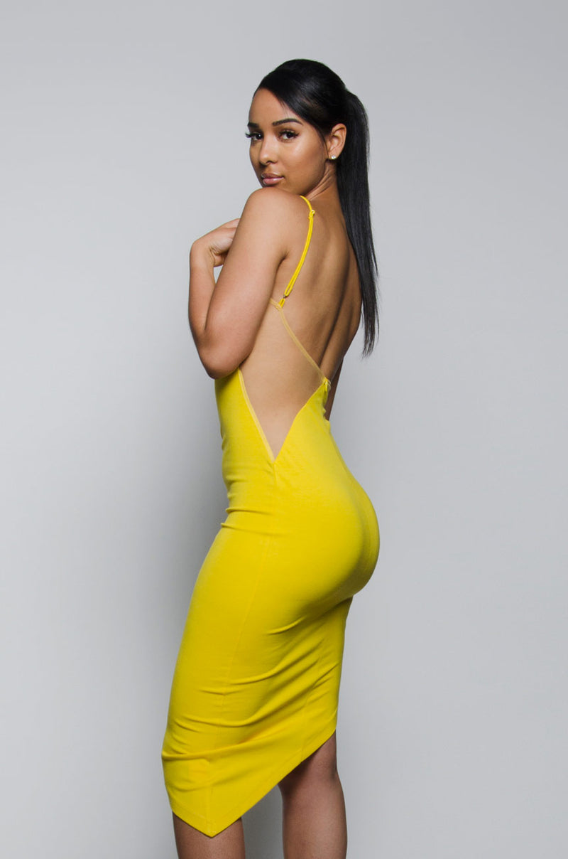 DAVINA | Yellow Dress