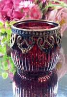 Arabian / Indian Tea Light Candle Holders Bowls Vi
