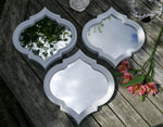 3 X Arabesque Arabian Mirror Set Rare Stunning