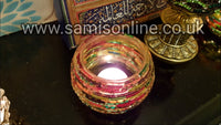 Indian themed Uniques Tea Light Bowl