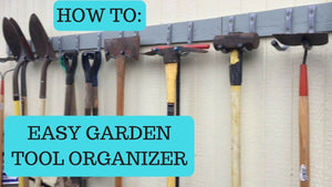 This is an easy way to organize your garden tool